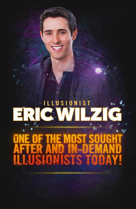 Best magician near me virtual zoom magic show Eric Wilzig