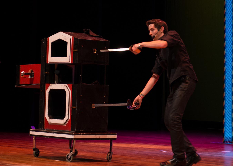 Eric Wilzig On Stage Performance