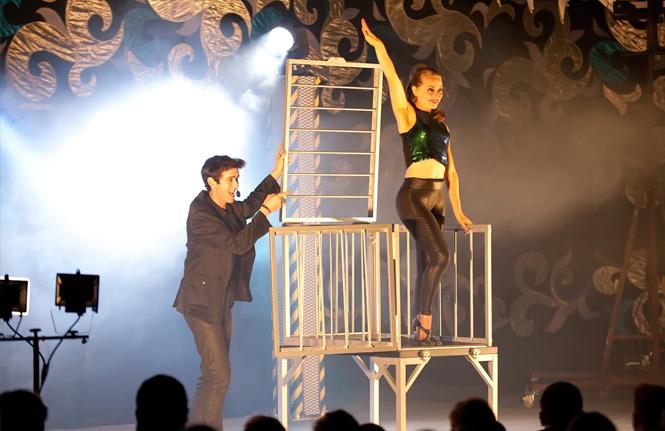 naca acpa college university magic show campus activities Eric Wilzig magician mentalist illusionist