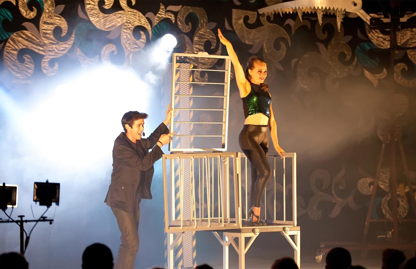 best magic illusion show magician illusionist hire Eric Wilzig Nyc ny Long Island New York city