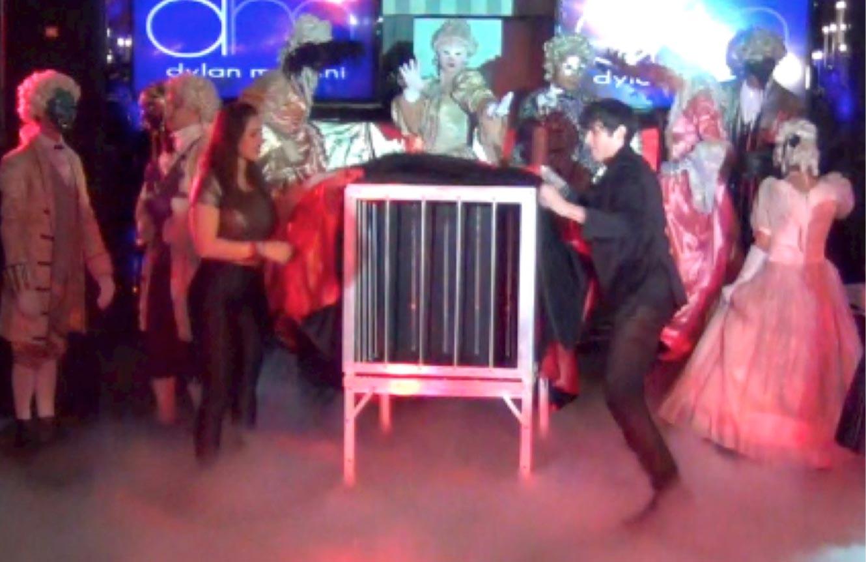 bar/bat mitzvah best grand entrance bar bat Eric Wilzig magic show magician mentalist