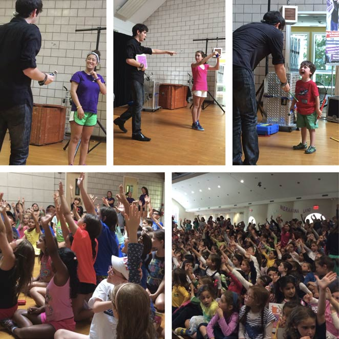 kids magic show for summer camp Eric Wilzig best campers tri-state ny nj ct