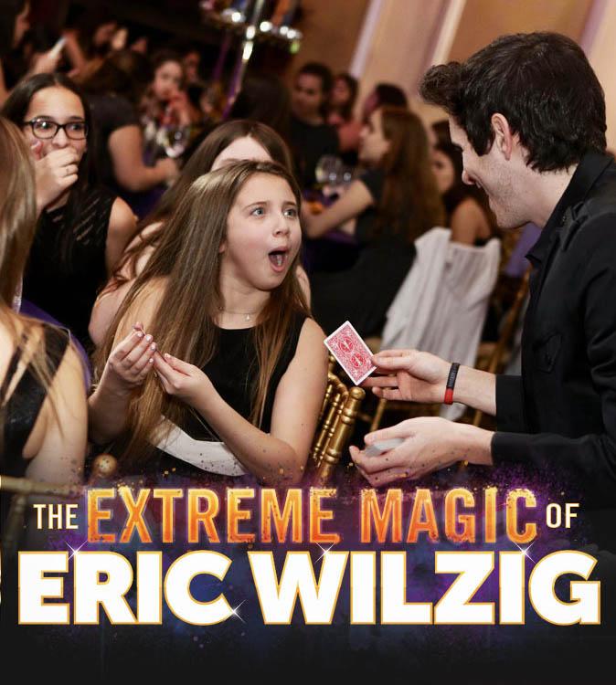 bar mitzvah bat mitzvah magician mentalist Eric Wilzig
