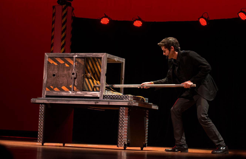 performing arts center hotels resorts magic show illusionist magician Eric Wilzig NYC New York