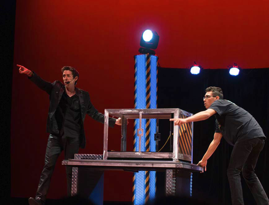 Eric Wilzig magician performing arts center show resorts hotels theater entertainment illusionist hire