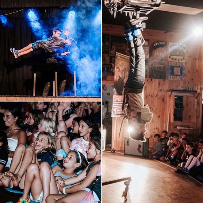 school magic show pta pto family fun night fundraiser assembly magician illusionist Eric Wilzig