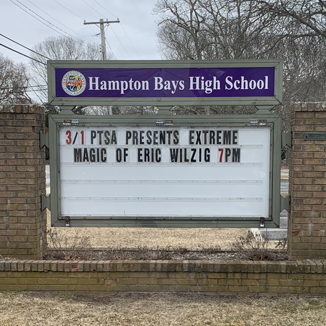 best school magic show magician elementary middle high pta pto fundraiser assembly Eric Wilzig