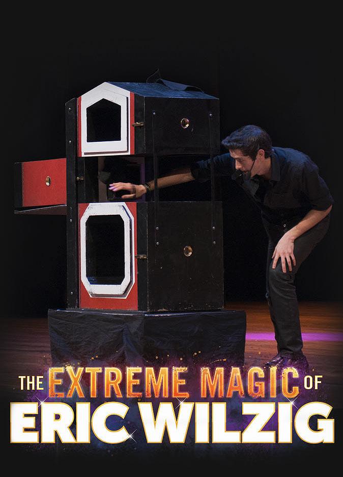 school magic show pta pto family fun night fundraiser assembly magician Eric Wilzig