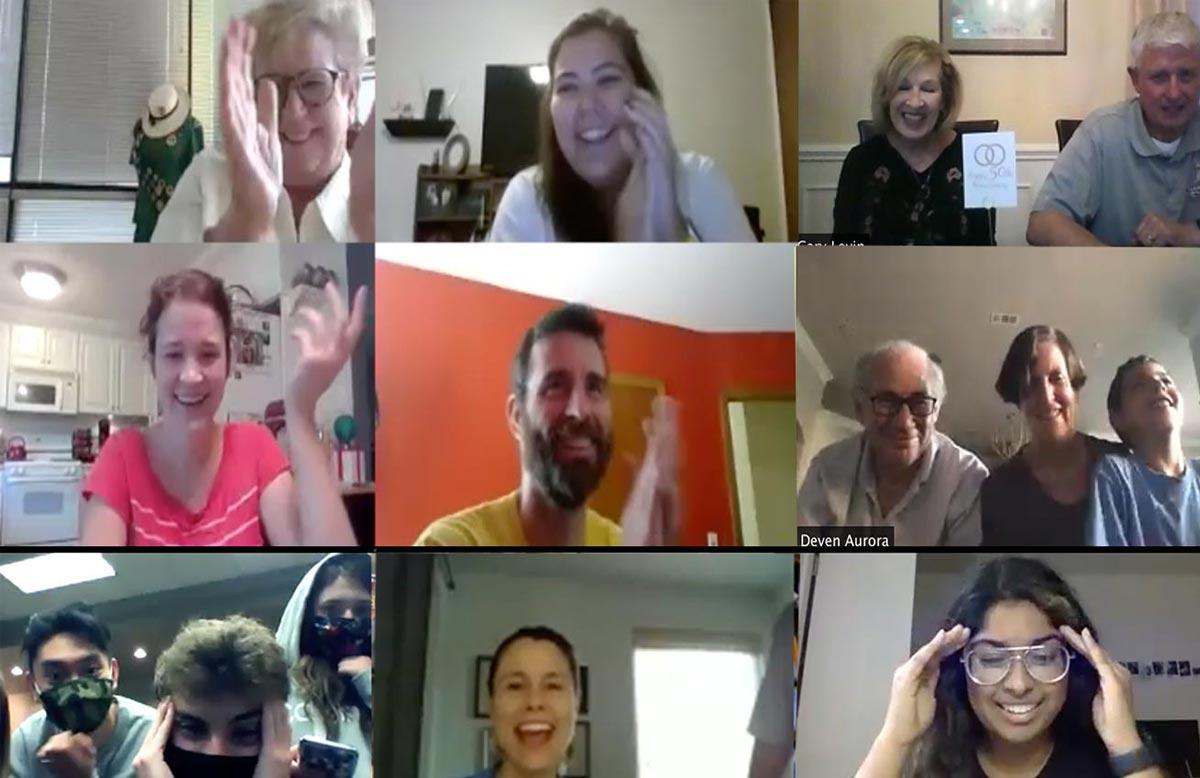 virtual party idea virtual magic show Eric Wilzig zoom teams webex