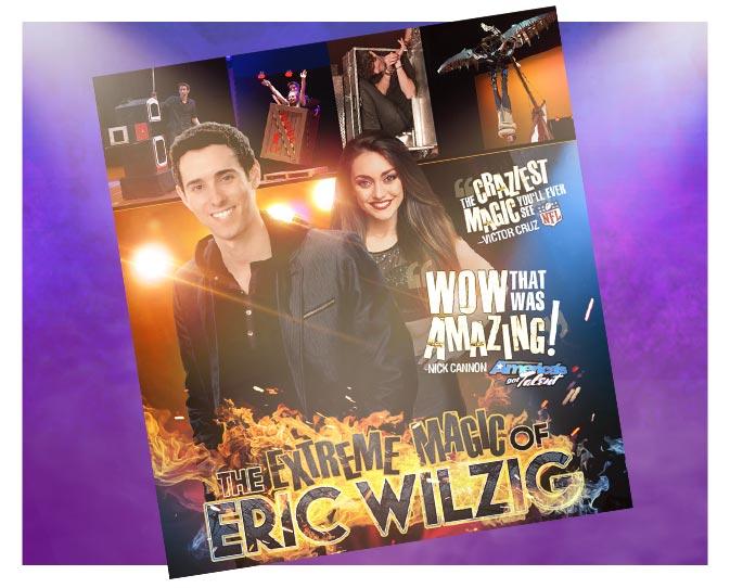 The Extreme Magic of Eric Wilzig Poster